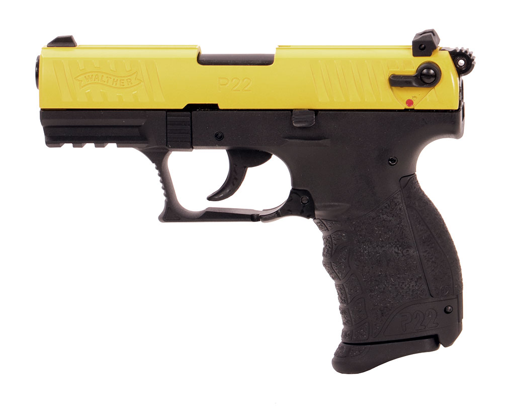 Gaspistole Signalpistole Walther P22Q Team Edition yellow/black, Kaliber 9 mm P.A. (P18)