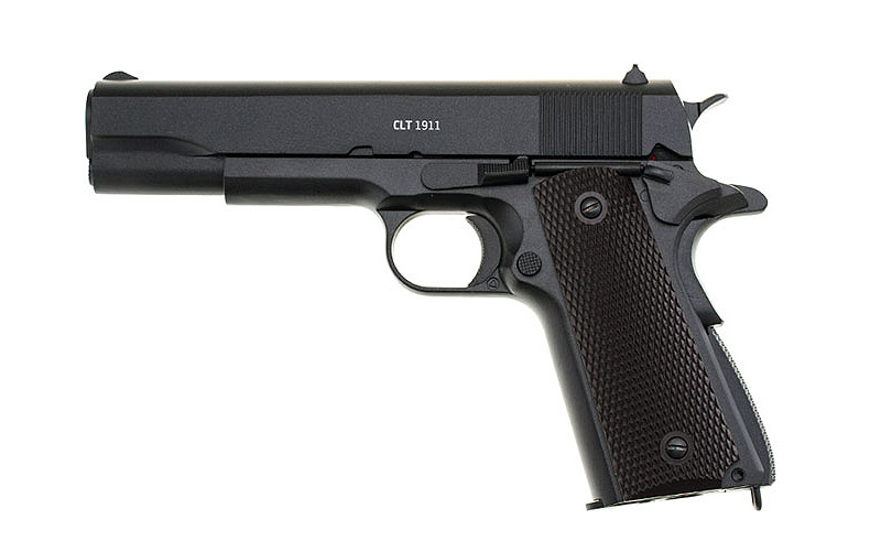 Vorführmodell CO2 Pistole Gletcher CLT 1911, Blowback, Kaliber 4,5 mm BB (P18)