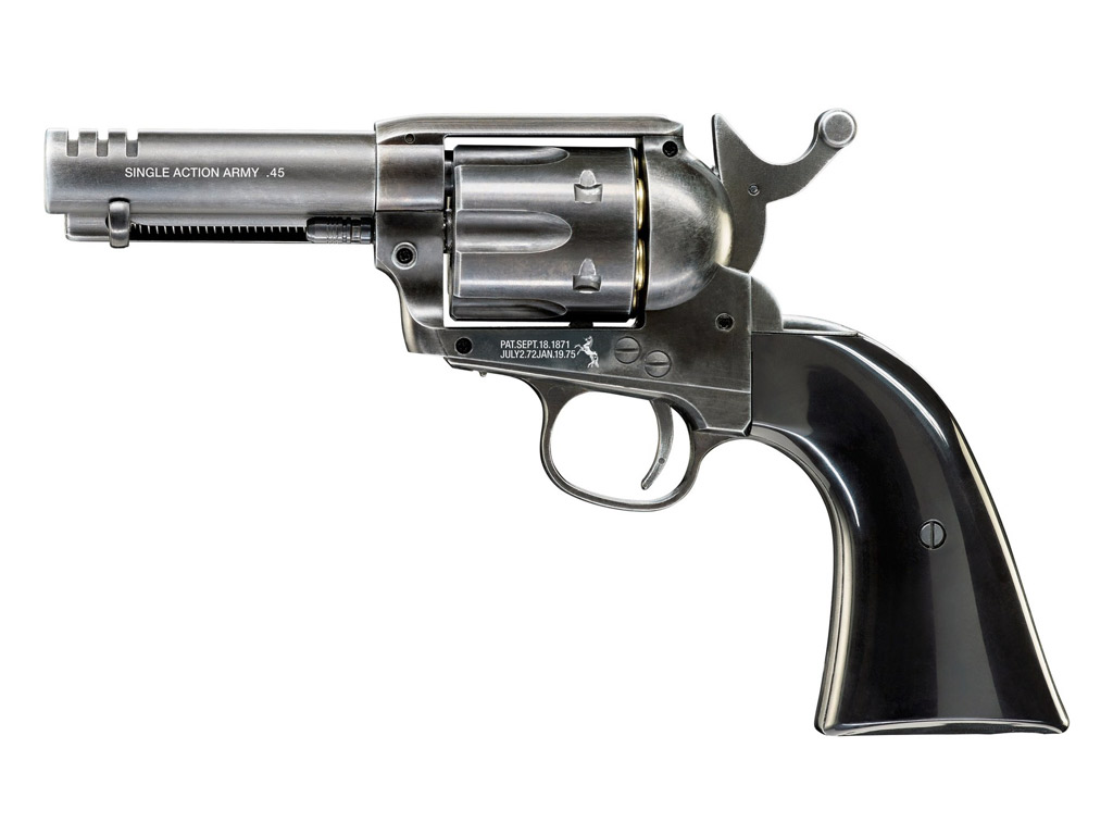 "CO2 Revolver Colt Single Action Army SAA .45 3.5"" Custom Shop Edition, Kaliber 4,5 mm BB (P18)"