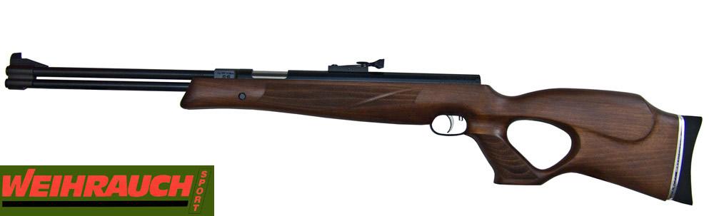 Hw >> Luftgewehr WEIHRAUCH HW 77 Kurz Lochschaft, Kaliber 4,5 mm (P18)