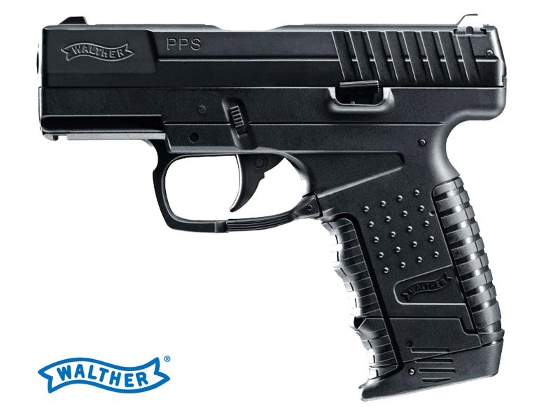 CO2 Luftpistole Walther PPS, Kaliber 4,5 mm BB (P18)