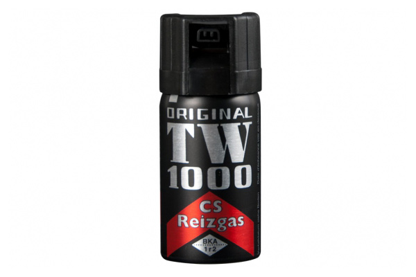 KO Spray, CS Abwehrspray TW 1000 Man, Inhalt 40 ml