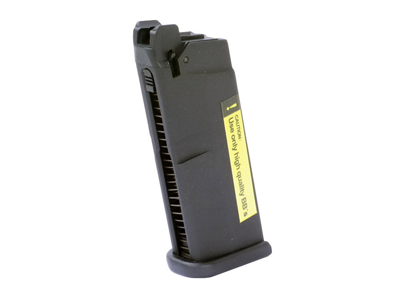 Magazin für Gas Softairpistole Umarex Glock 42, Blow Back, Kaliber 6 mm BB