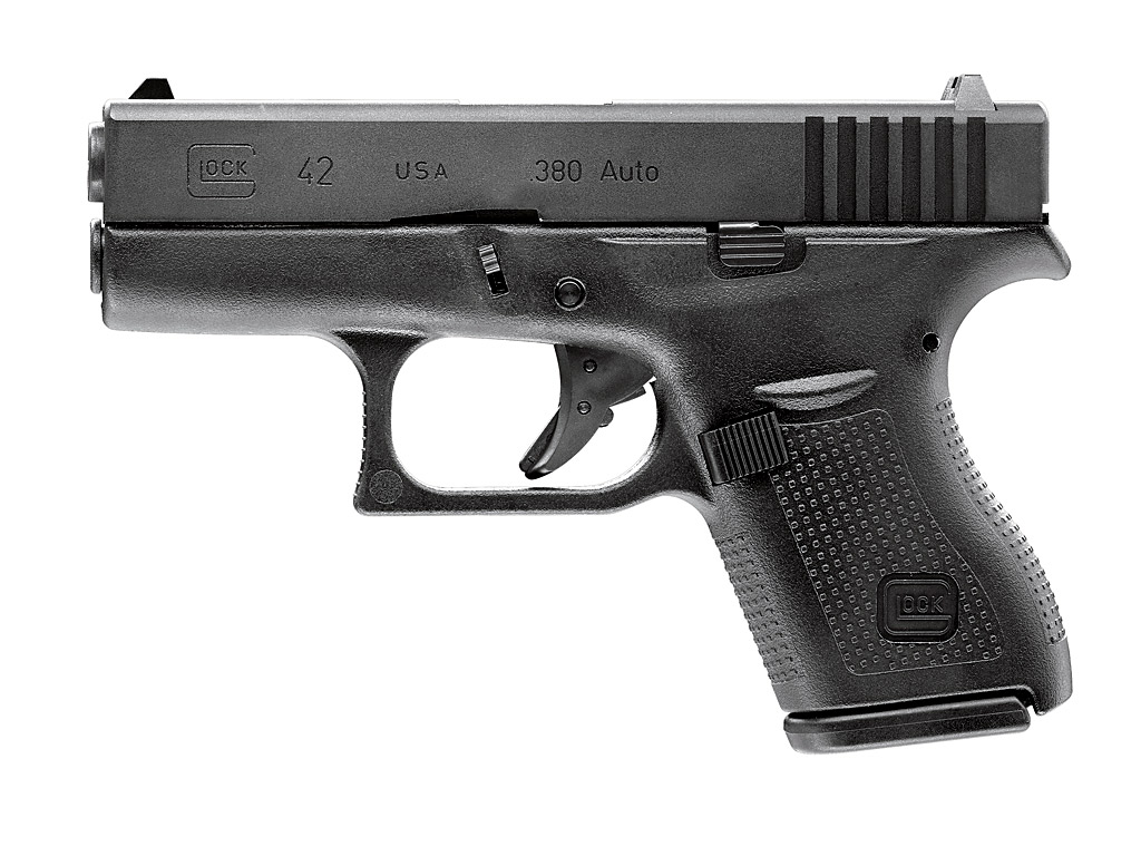Gas Softairpistole Umarex Glock 42, Blow Back, Kaliber 6 mm BB (P18)