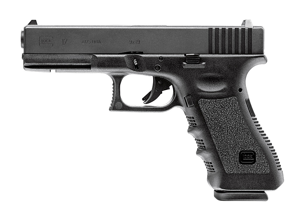Gas Softairpistole Umarex Glock 17, Blow Back, Kaliber 6 mm BB (P18)