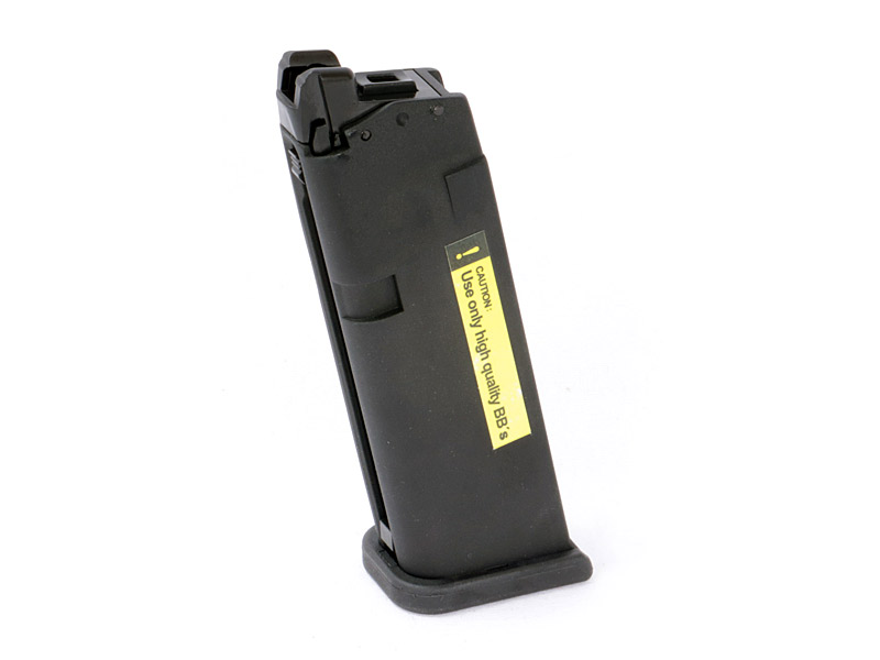 Magazin für Gas Softairpistole Umarex Glock 19, Blow Back, Kaliber 6 mm BB