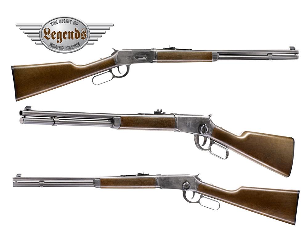 CO2 Unterhebel Repetier Gewehr Umarex Legends Cowboy Rifle, Le