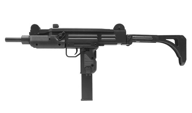 AEG Softair- Maschinenpistole GSG MP2 A1, Kaliber 6mm BB