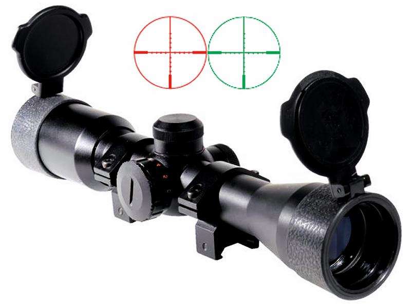 Luftgewehr zielfernrohr swiss arms 4x32 dc leuchtabsehen mild