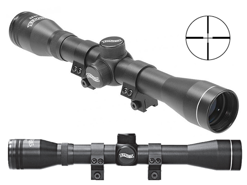 Luftgewehr zielfernrohr walther absehen inkl mm hp