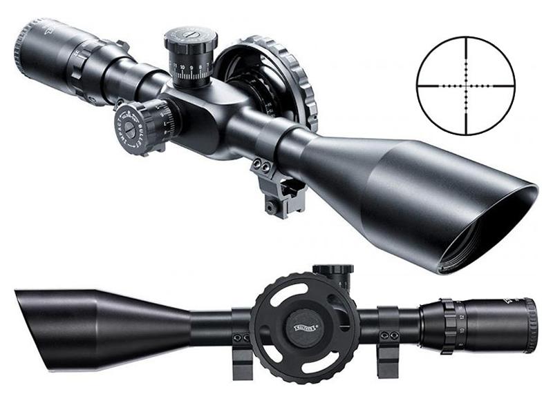 Zielfernrohr Mit Entfernungsmesser Kaufen : Luftgewehr zielfernrohr walther 8 32x56 absehen mildot sonne