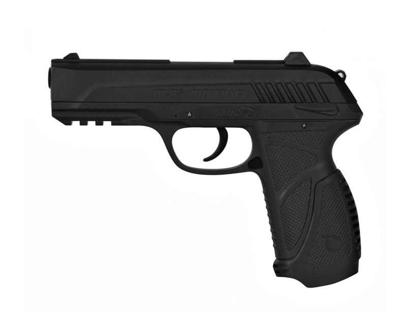 Co2 luftpistole von gamo modell pt 85 black mit blow back for Schneider geschenkartikel