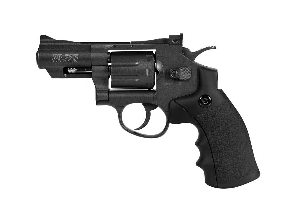 CO2 Revolver Gamo PR-725, Vollmetall, Kaliber 4,5 mm (P18)