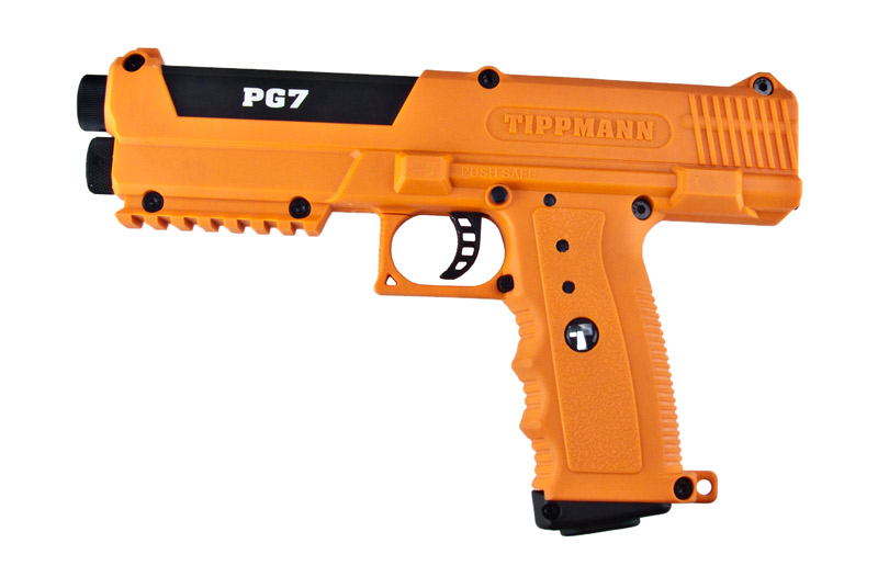 CO2 Paintball Pistole Tippmann PG7, orange, Kaliber .68 (P18)