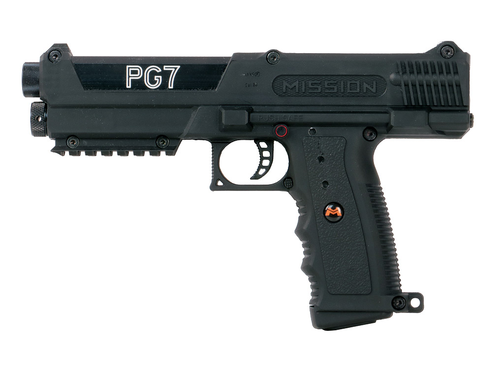 CO2 Paintball Pistole Tippmann / Mission PG7 Black, Kaliber .68 (P18)