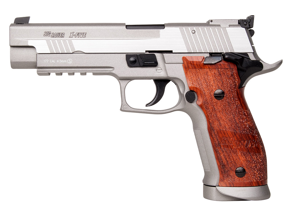 Vorführmodell CO2 Pistole Sig Sauer P226 X-Five, Stainless-Finish, Kaliber 4,5 mm BB (P18)