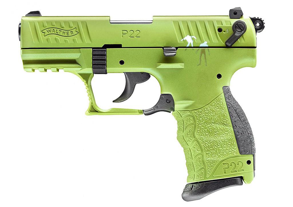 gaspistole signalpistole walther p22q zombster kaliber 9. Black Bedroom Furniture Sets. Home Design Ideas