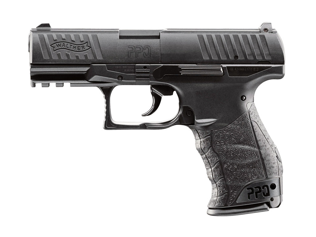 CO2 Pistole Walther PPQ, Kaliber 4,5 mm (P18)