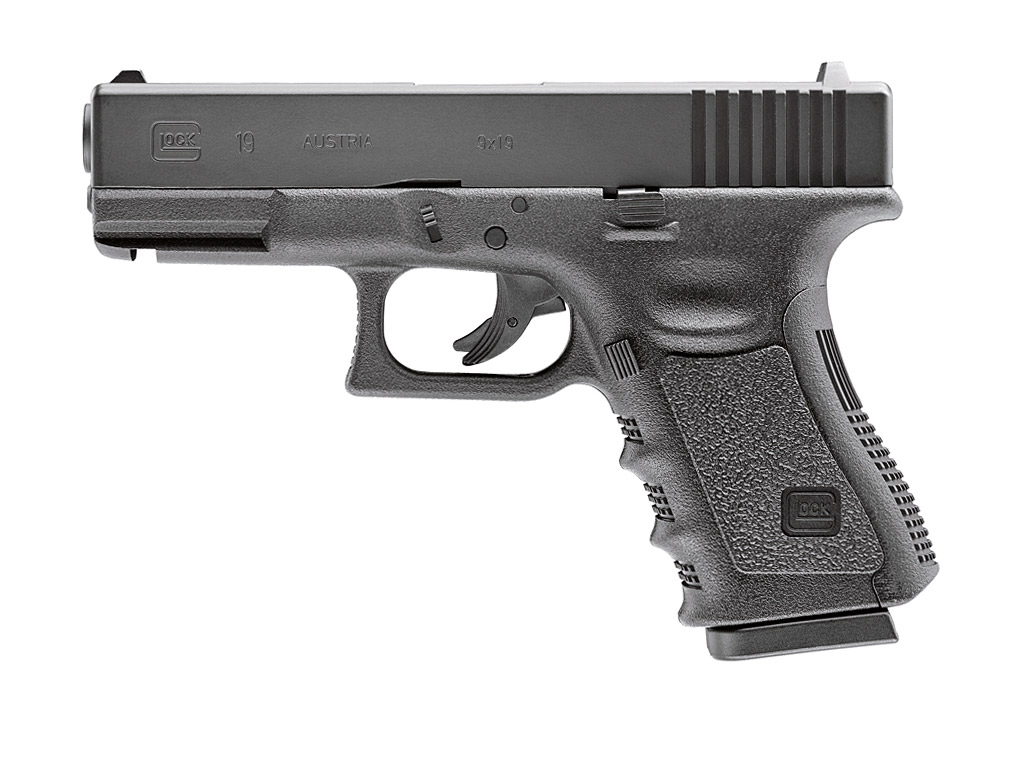 CO2 Pistole Umarex Glock 19, Kaliber 4,5 mm BB (P18)