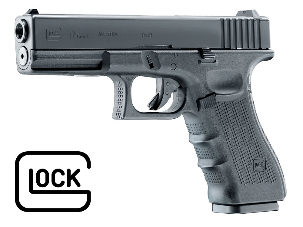 CO2 Pistole Umarex Glock 17 Gen4, Blow Back Kaliber 4,5 mm BB (P18)
