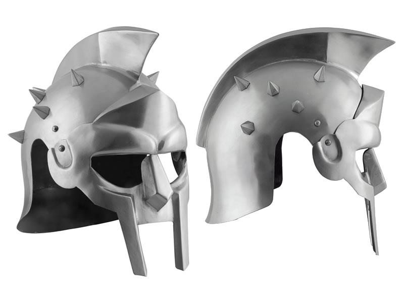 gladiatorenhelm maximus dornen 1 5 mm stahlblech leder inle. Black Bedroom Furniture Sets. Home Design Ideas