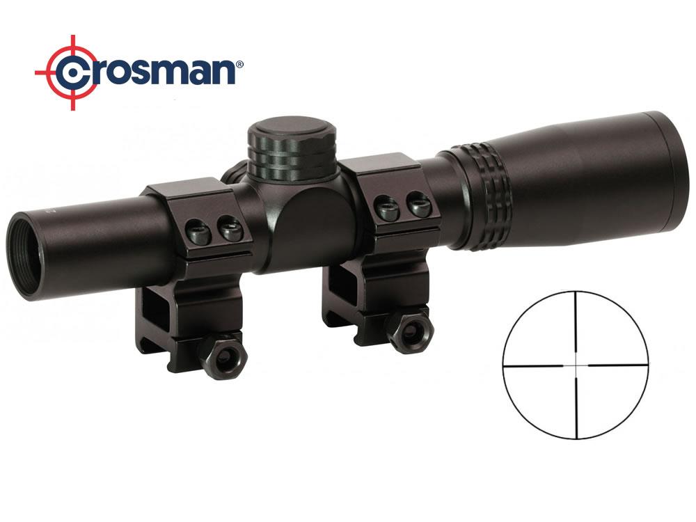 Crosman pistolen zielfernrohr center point 2x20 ink. montage