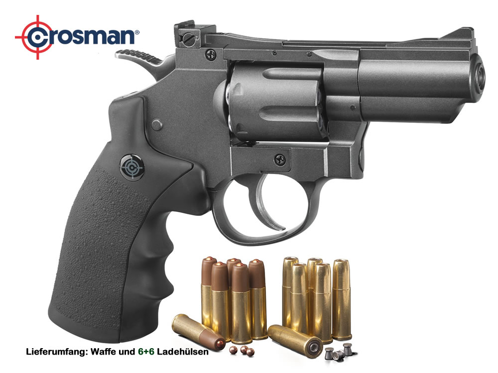 co2 revolver crosman snr357 snub nose 6 schuss kaliber 4 5 m. Black Bedroom Furniture Sets. Home Design Ideas