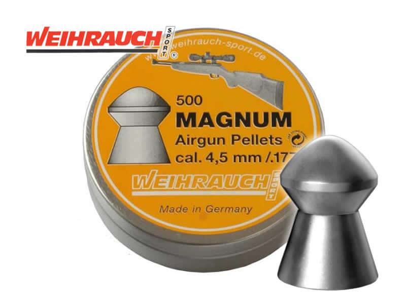 La Weihrauch HW100BP / 5,5mm / canon 600mm / 41 joules HWMA45_Weihrauch_Diabolo_Magnum_Kal_45_177