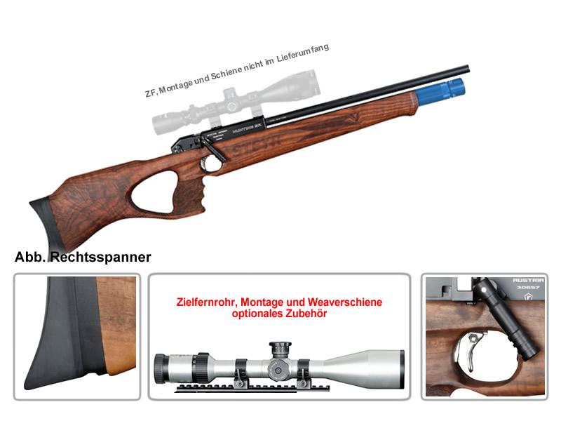 Pressluft jagdgewehr steyr hunting 5 scout automatik blaue ka