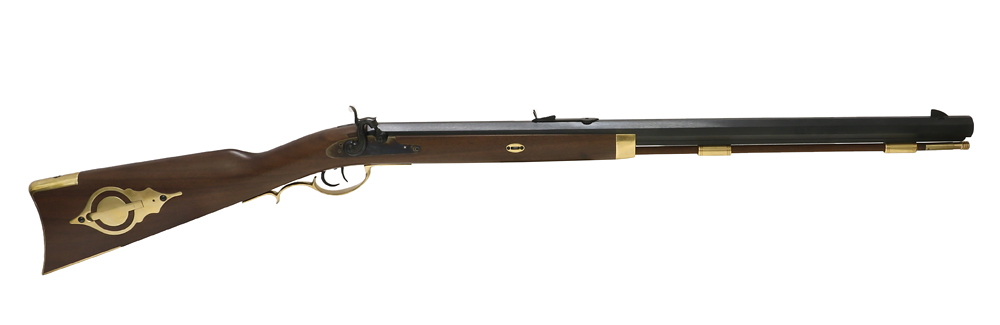 Perkussiongewehr von Davide Pedersoli Modell Hawken Target Rifle im Kaliber .50 (P18)
