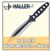 Wurfmesser, Wurfmesser-Set, Haller, made in Germany,