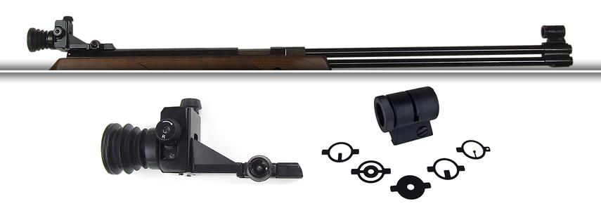 Choix d'une carabine pour débuter le  tir Luftgewehr_hw77_diopterset