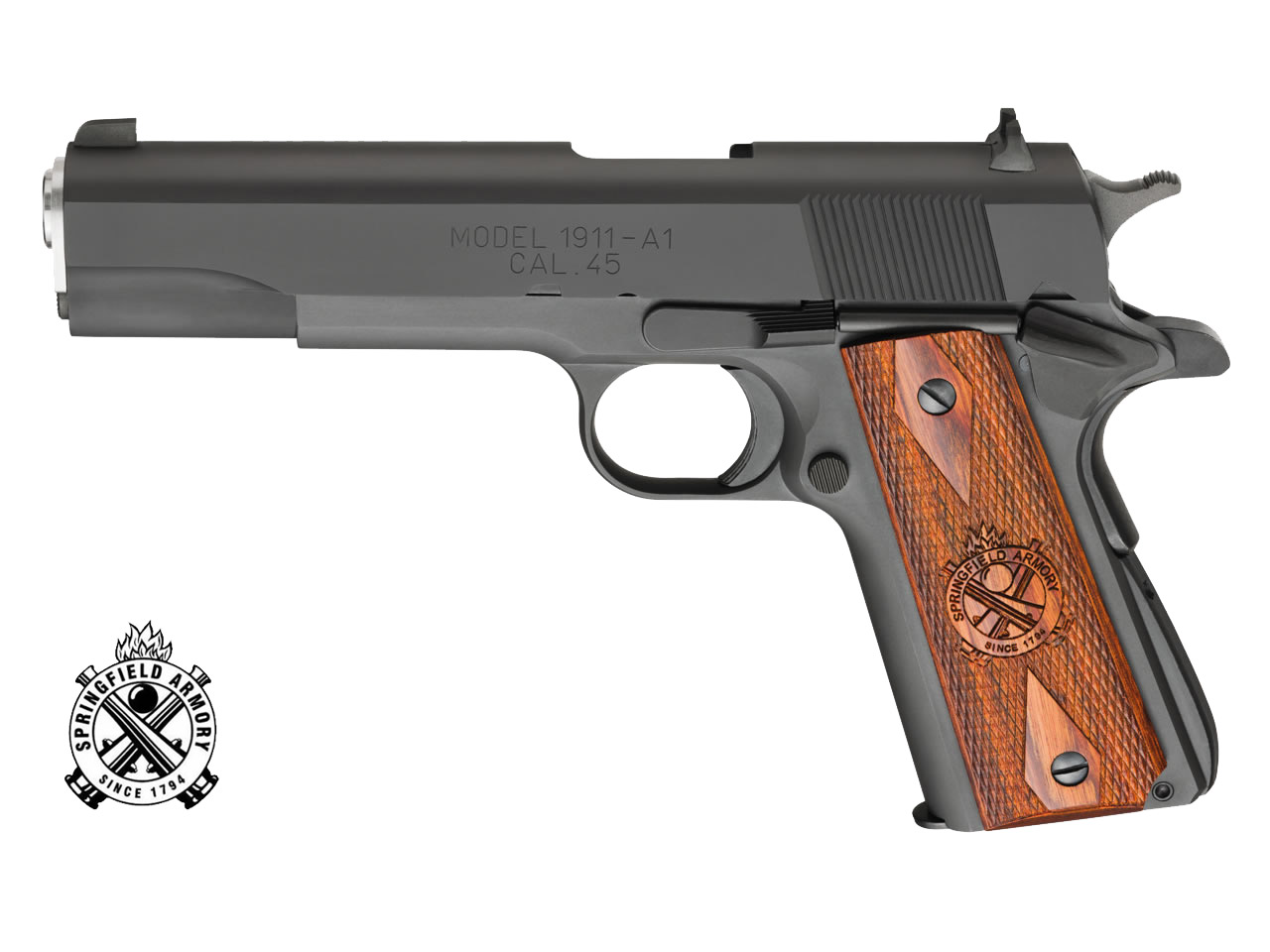 CO2 Pistole Springfield 1911, Blow Back, Kaliber 4,5 mm BB (P18)